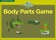 Body Parts Board Game for ESL Practice