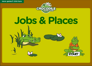Jobs, Places ESL Interactive Vocabulary Practice Board Game
