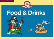 Food, Drinks ESL Interactive Vocabulary Board Game