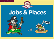 Jobs, Places Vocabulary ESL Interactive Board Game