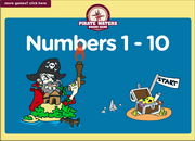 Numbers 1 to 10 ESL Vocabulary Interactive Board Game