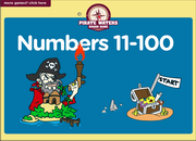 Numbers 10 to 100 ESL Vocabulary Interactive Board Game