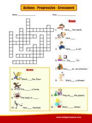 Actions Crossword