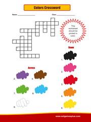 Colors Crossword