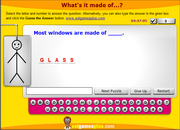 What's it made of? Passive Voice, Product Materials ESL Hangman