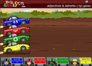 Adjectives adverbs ly rally game