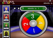 Adverbs ly game spin game