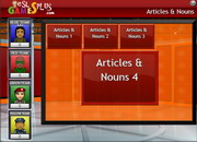 Articles nouns quiz game