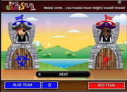 Modal verbs can could might must should would catapult game