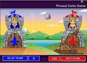 Phrasal verbs catapult game