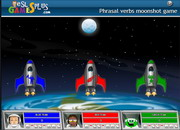 Phrasal verbs moonshot game