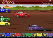 Phrasal verbs rally game