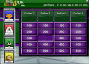 Prefixes common quiz game