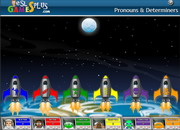 Pronouns determiners moonshot game