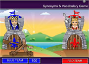 Synonyms & Vocabulary game