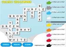 Colors Interactive Crossword