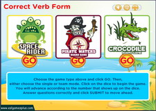 Correct Verb Form