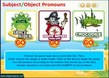 Subject Object Pronouns