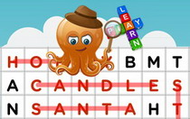 Christmas Interactive Word Search