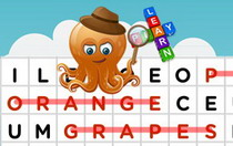 Fruits Interactive Word Search