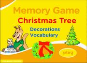 Christmas ESL Vocabulary Memory Game – Christmas Tree Decorations