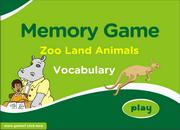 Zoo Animals ESL Vocabulary Memory Game