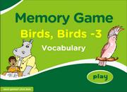 Memory Game on Bird Vocabulary for ESL