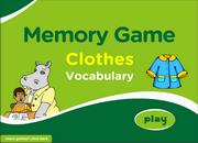 Clothes Vocabulary ESL Memory Game