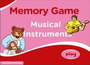 Musical Instruments ESL Vocabulary Memory Game