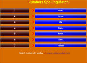 Numbers 1-10 ESL Vocabulary Game on Mobile – iPad, iPhone, Android Games
