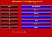 Learn to Count Numbers to 100, iPad, android, Mobile,ESL Vocabulary Mobile Game