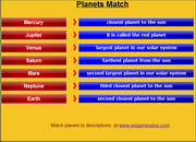Planets, Solar System, Vocabulary ESL Vocabulary Mobile Game iPad, Android or Mobile Devices