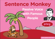Passive Voice, Past Passive, ESL Grammar Sentence Activity Fun Game Online