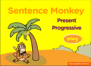 Present Progressive Tense Use, Continuous, ESL Grammar Fun Game Online