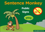 Public Signs, Imperative Form and Sentences ESL Grammar Activity Online