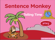 Time, Daily Routines Expressions, ESL Grammar Sentence Activity