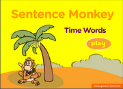 Learn words and expressions of time, ESL Grammar Activity