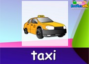 Means of Transportation Lesson Sentences & Words