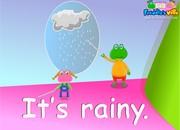 Weather Lesson Sentences & Words