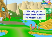 Days of the Week ESL Lesson Dialogue