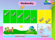 Days of the Week ESL Lesson Sentences and Words