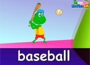 Sports Lesson Words, Sentences