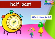 Time for School Sentences & Words