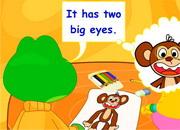It has two big eyes ESL Video Lesson