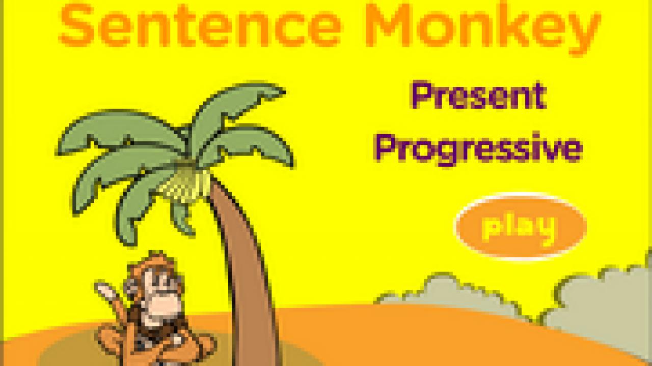 Present Progressive, Continuous, ESL Grammar Fun Game Online