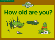How Old Are You Age Esl Interactive Crocodile Board Game