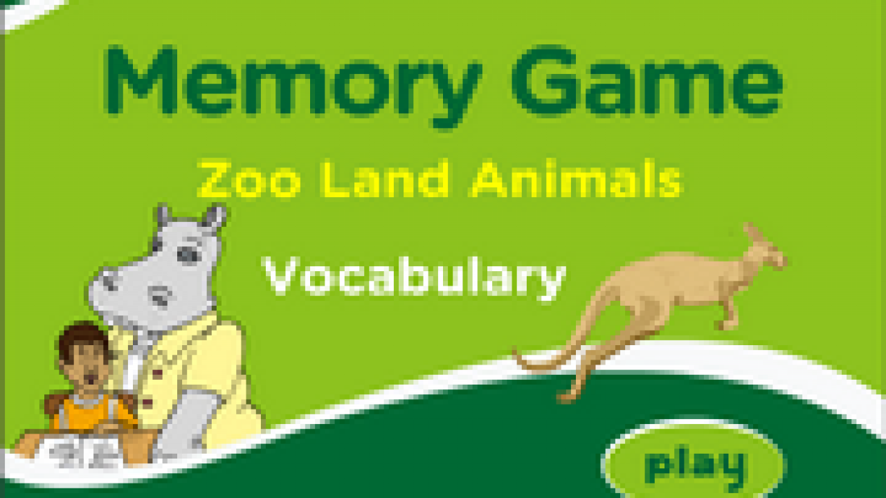 Wild Animals Memory Match