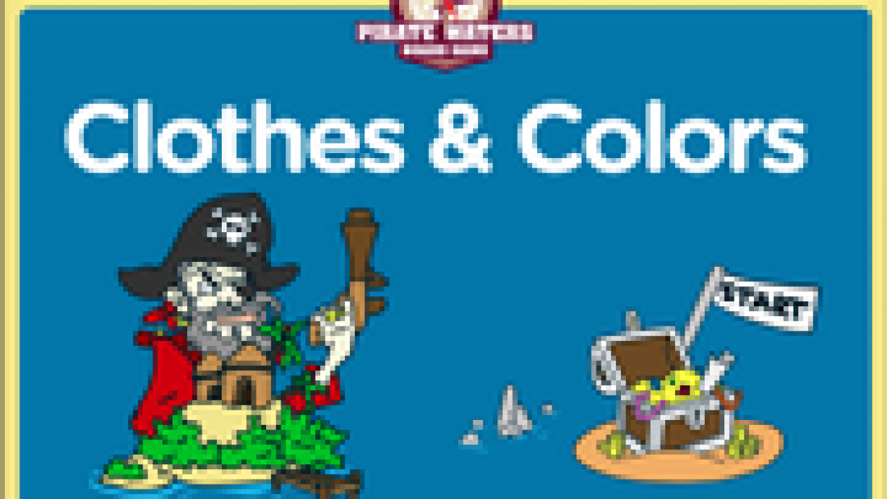 Clothes, Colors, Vocabulary ESL Interactive Board Game
