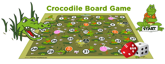 crocodile board game esl