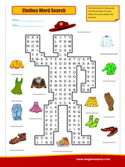 Food Wordsearch Puzzle Worksheet